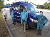 Curative COVID-19 Testing Van