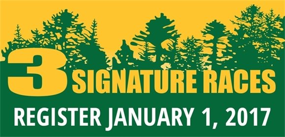 Signature Race Registration Opens Jan. 1, 2017