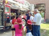 Each of the eight fire stations in The Woodlands will host an open house this summer.