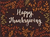 Happy Thanksgiving from The Woodlands Township!