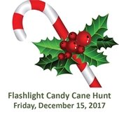 Flashlight Candy Cane Hunt