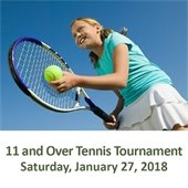 11 and Over Tennis Tournament