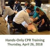 Hands-Only CPR Training - Village Challenge