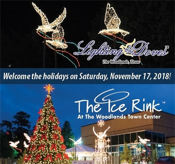 Lighting of the Doves and The Ice Rink