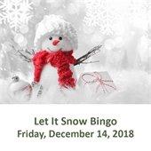 Let It Snow Bingo