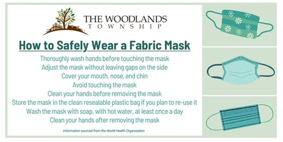 Wear a face mask for COVID-19 prevention