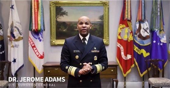 U.S. Surgeon General Dr. Jerome Adams