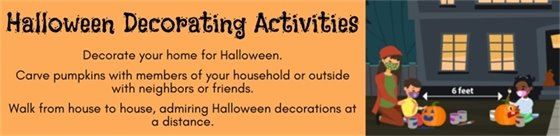Halloween Decorating Activities