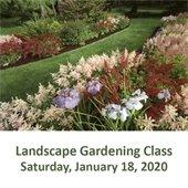Landscape Gardening Class