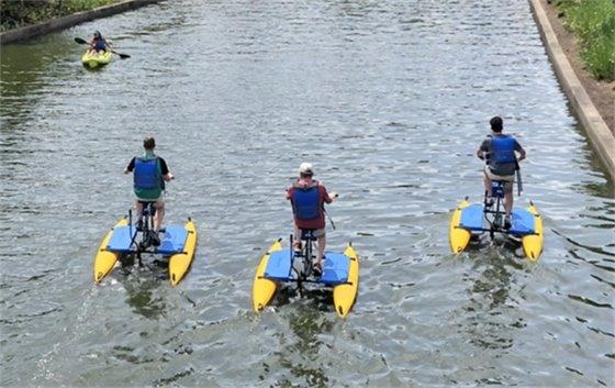 Water Bike the Waterway
