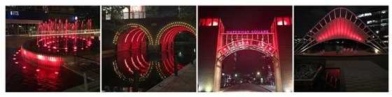Town Center Red Lights
