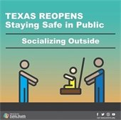 Texas Reopens - Staying Safe in Public