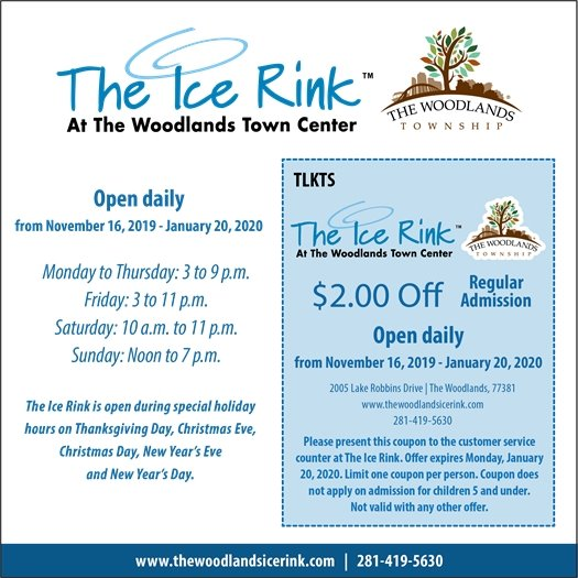 The Ice Rink Coupon