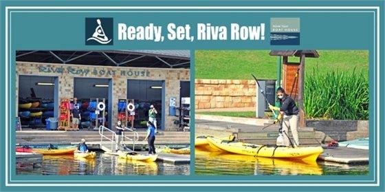 Ready, Set, Riva Row!