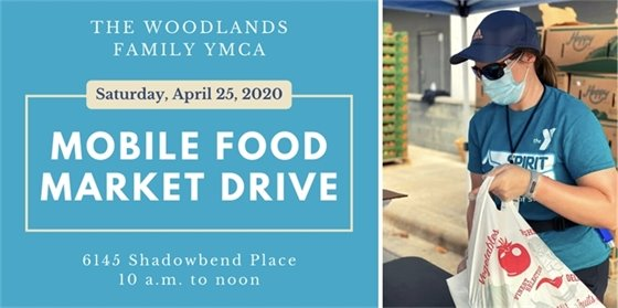 YMCA Mobile Market Food Drive