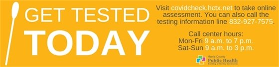 Get Tested Today