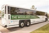 Reserve a ride on The Woodlands Express for the Houston rodeo