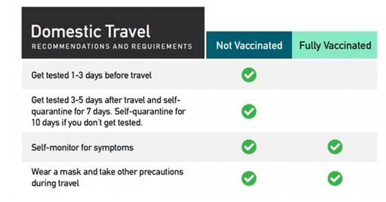 CDC Travel Recommendations