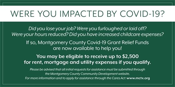 Were you impacted by COVID-19