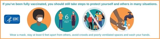 Continue to Take Precautions After Vaccination