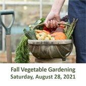 Fall Organic Vegetable Gardening