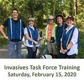 Invasives Task Force Training