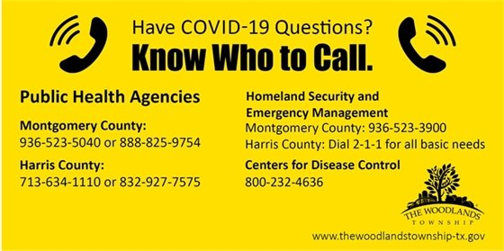 COVID-19 Phone Numbers