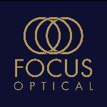 Logo Comp Focus Optical gold_navy