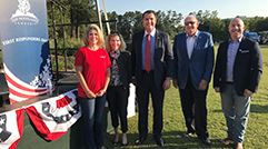The Woodlands Township Board of Directors in attendance at the First Responders Day Ceremony