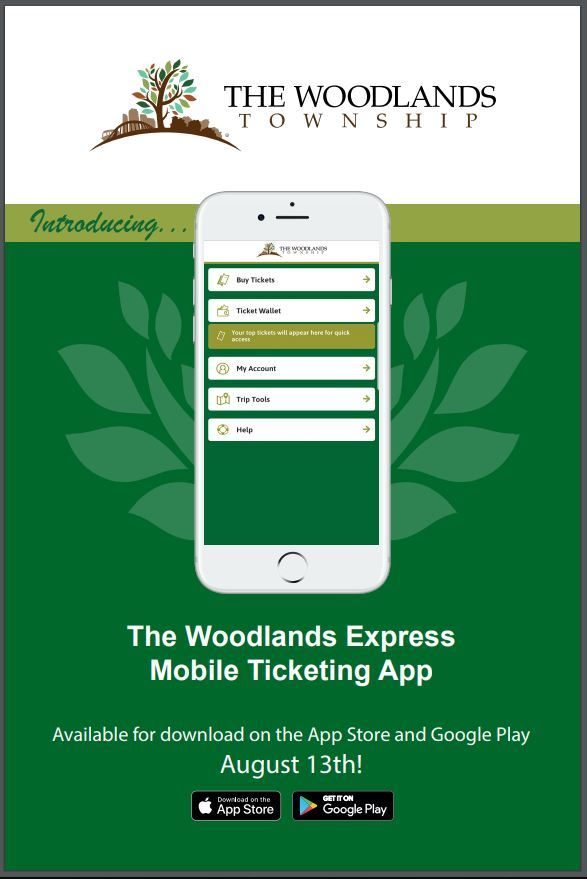 Mobile Ticketing Poster graphic