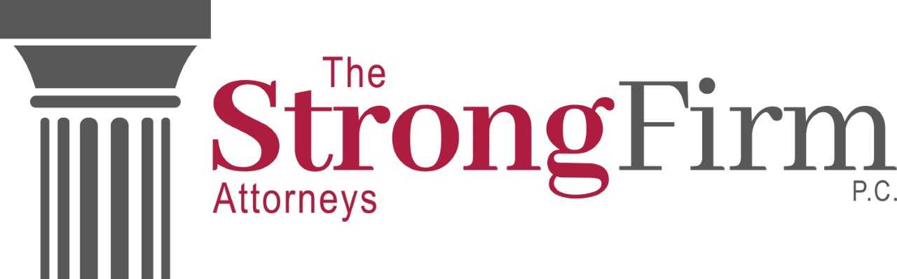 The Strong Firm Logo - white background