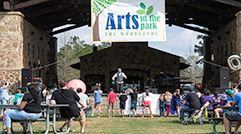 Arts in the Park 241 x 134