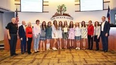 The Woodlands Christian Academy Girls Swim Team
