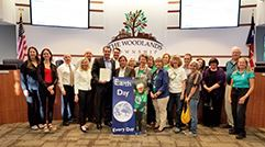 The Woodlands G.R.E.E.N Proclamation