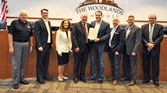 Fire Chief Alan B. Benson Day in The Woodlands
