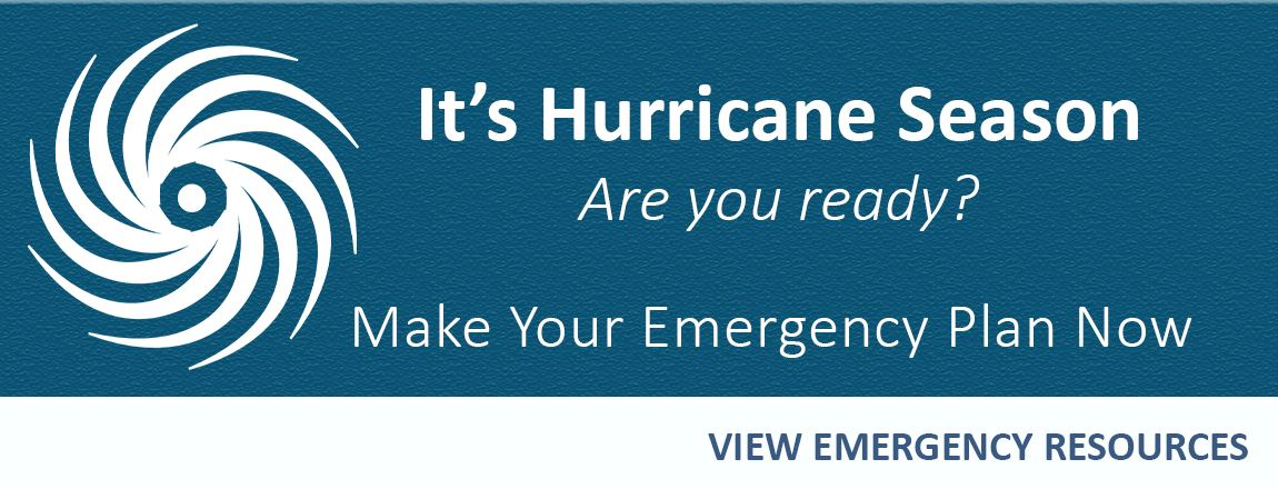 Emergency Resources Banner