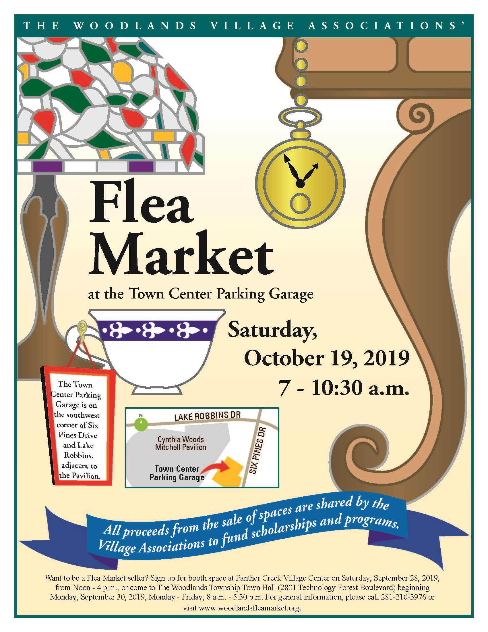 Fall 2019 Flea Market Flier