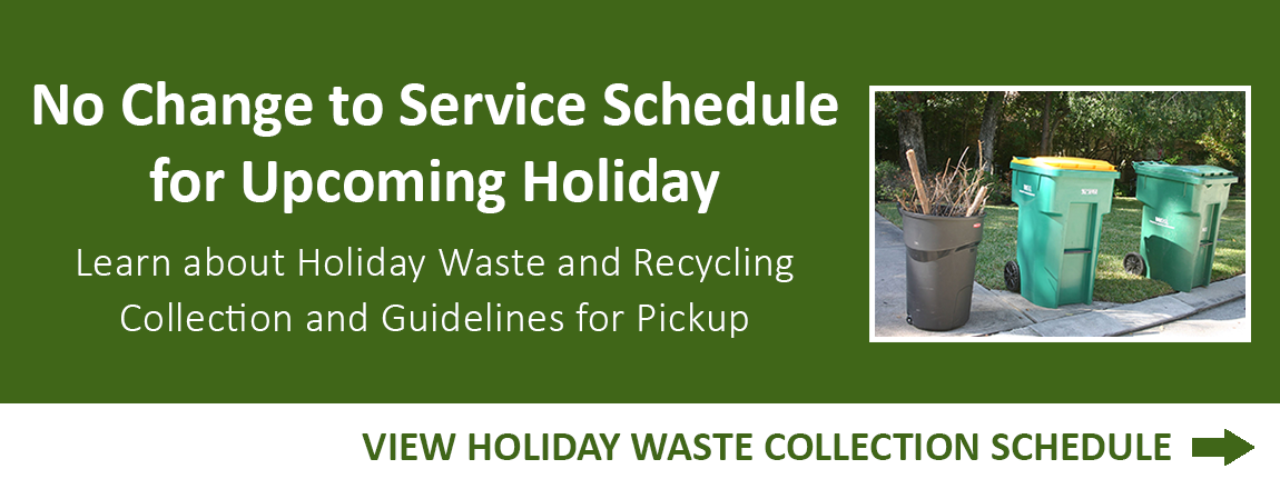 Holiday Waste Collection