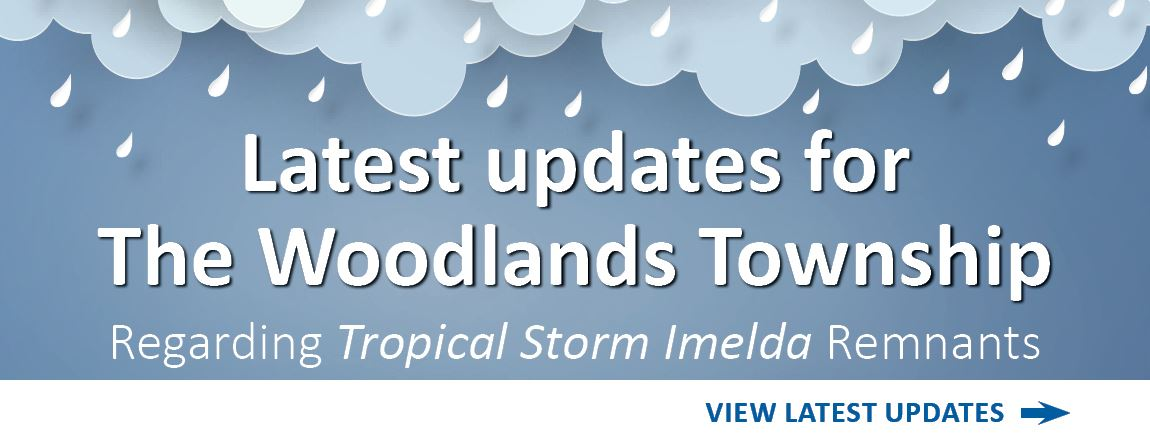 Imelda Updates for The Woodlands