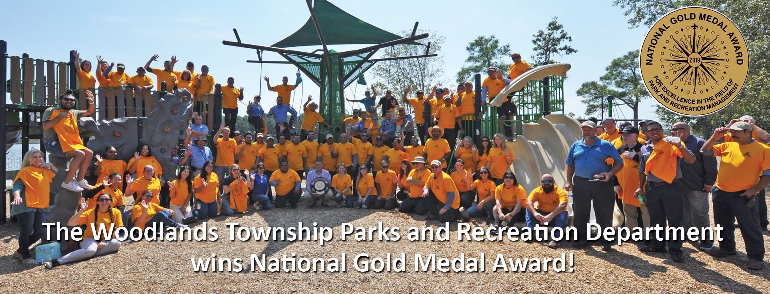 Parks and Rec Gold Award 2019