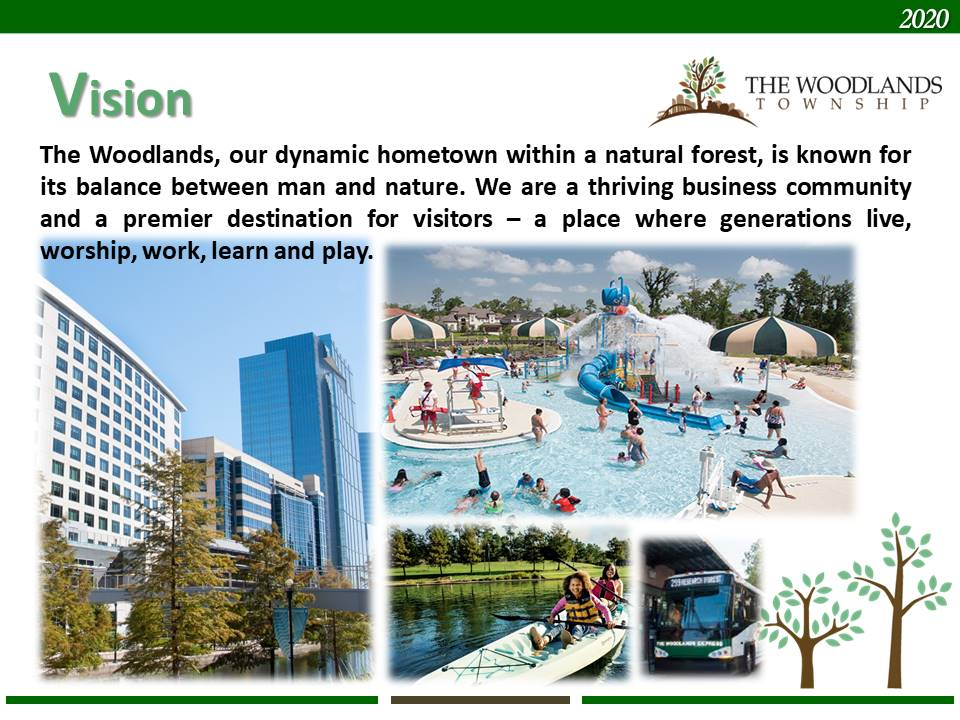 The Woodlands Vision for a dynamic hometown