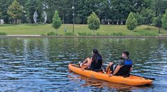 Riva Row Boat House Adds Pedal Kayaks to Rental Options