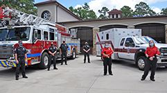 Township signs agreement for improved ambulance service in Creekside Park
