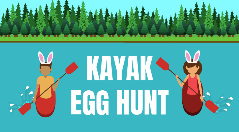 Kayak Egg Hunt