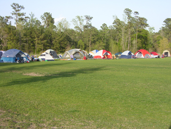 Camp Terramont - Tents