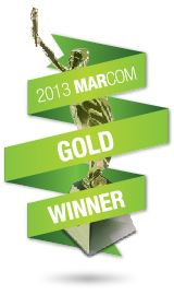 Marcom Gold Winner 2013