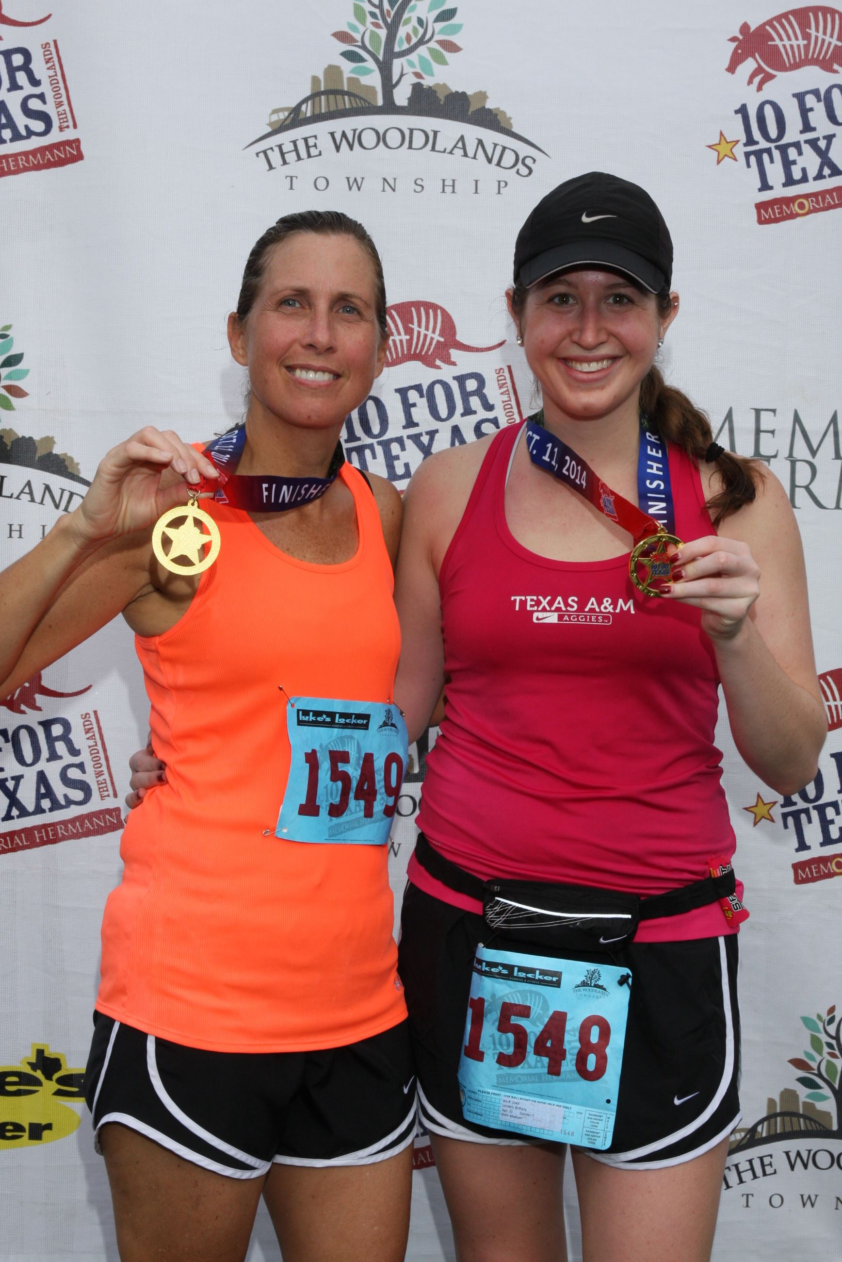 104TX _ Females with Medals