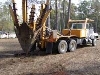 Reforestation - Bulldozing Equipment