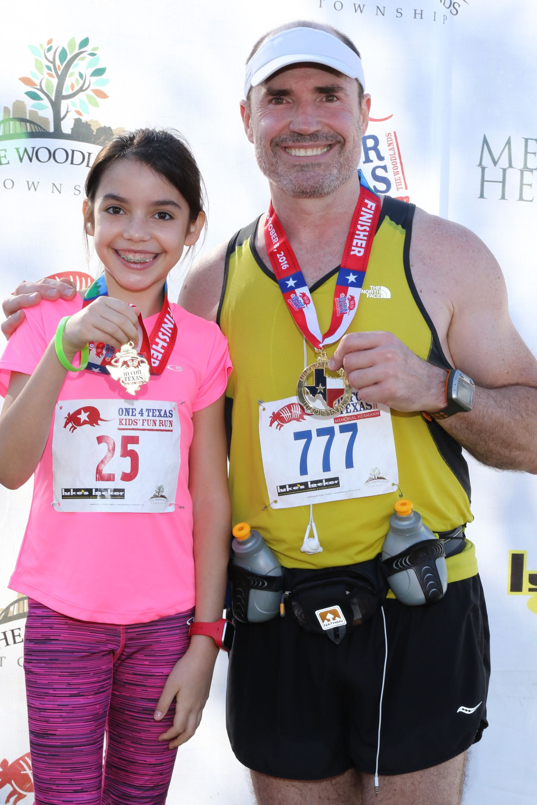 104TX16 Father/Daughter Medals