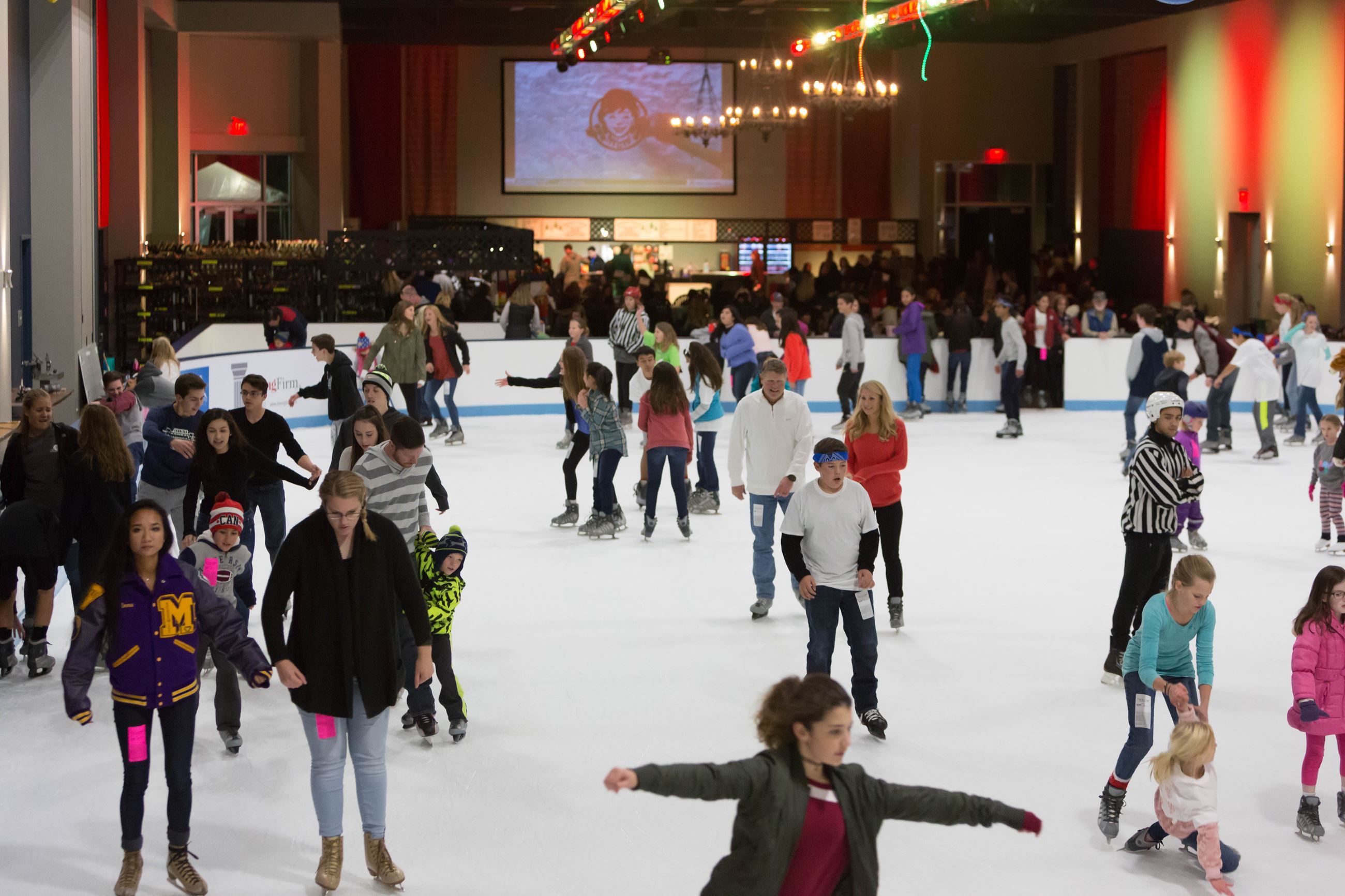 the ice rink the woodlands township tx